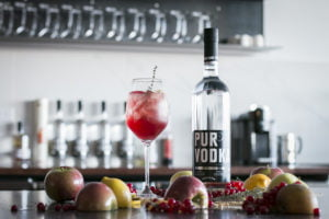 Pur Vodka Cocktail Quebec cassis cidre SAQ Jean Rene Lebel