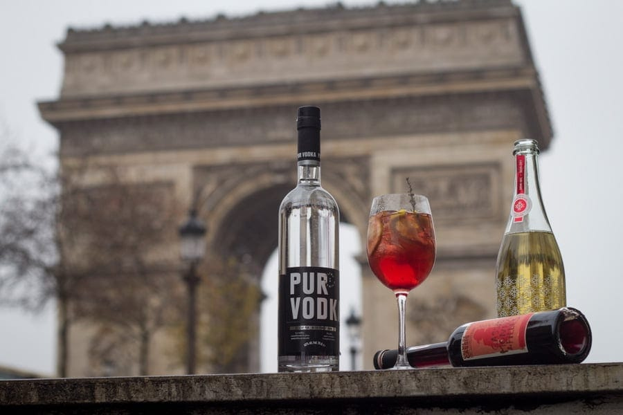 Pur Vodka Cocktail du Québec à Paris
