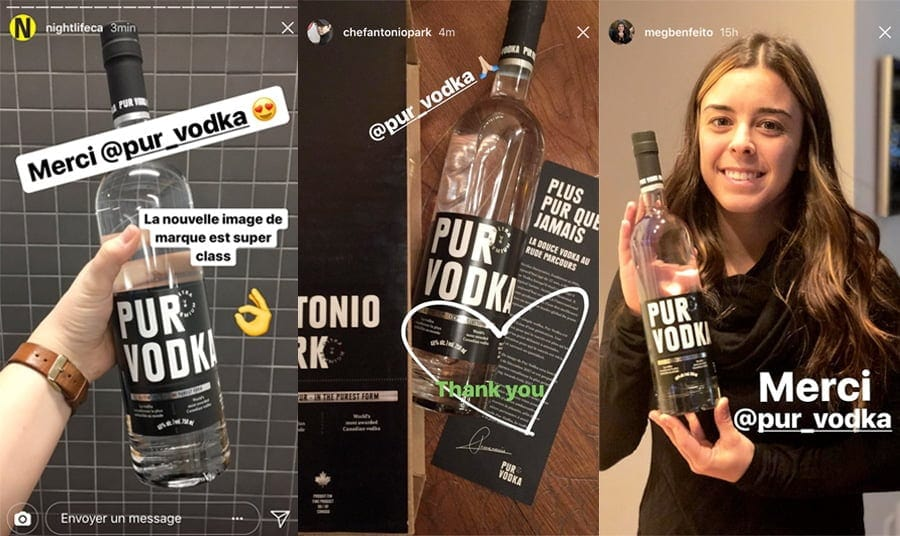 pur vodka stories users
