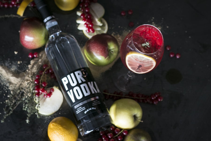 Pur Vodka Cocktail du Québec