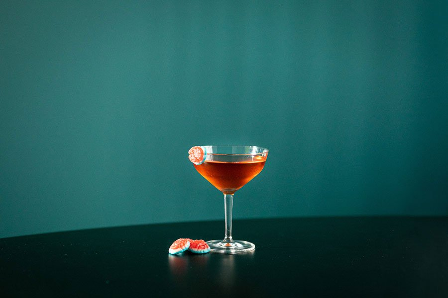 pur vodka cocktail halloween compte negroni