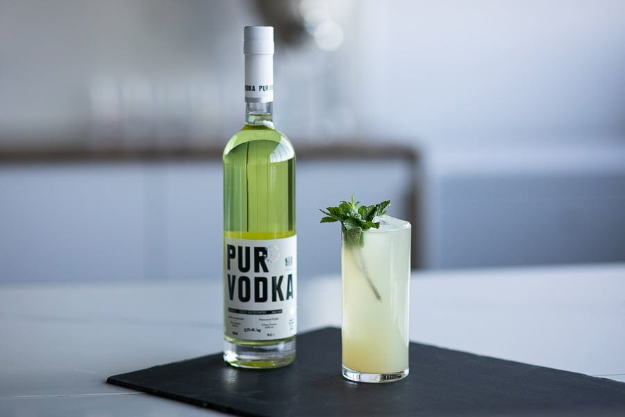 Pur vodka miel poire léa messier cocktail serie autographe édition 02