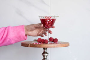 Crazy On You is a Pur Vodka cocktail, perfect for Valentine's Day!