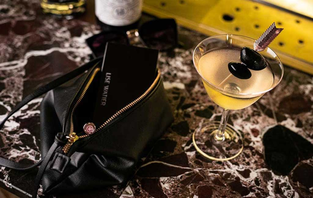 Fatal Potion is a Pur Vodka cocktail, in collaboration with Lise Watier