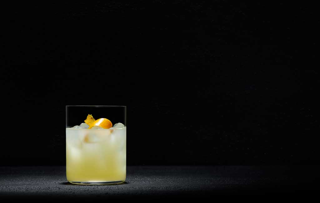 Morning Mist is a simple cocktail, with pear and orange blossom.
