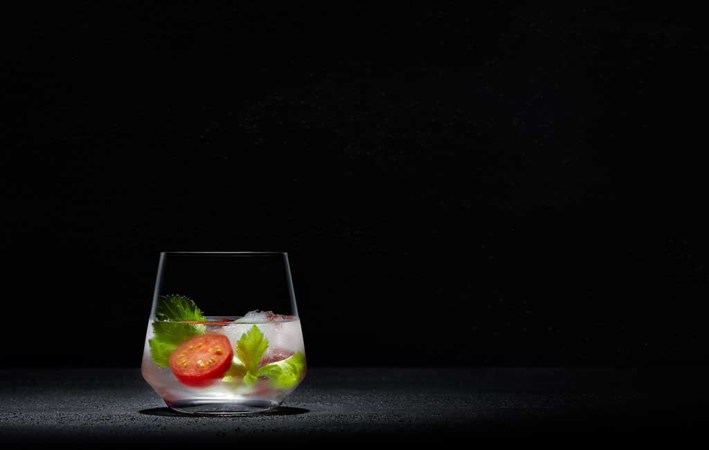 Minimalist Mary is a simplified and modern version of the classic Bloody Mary.